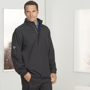 Custom Printed Mens Callaway Corporate Top Spin Half Zip Rain Jackets