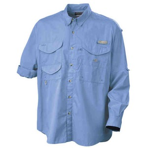 Mens columbia woven dress shirts embroidered with your logo for Embroidered columbia fishing shirts