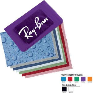 Microfiber Cleaning Cloths, Custom Imprinted With Your Logo!