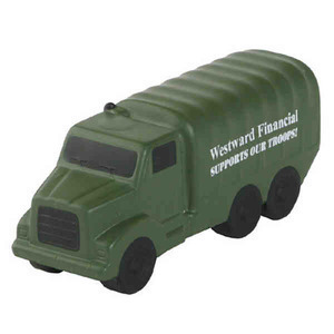 Custom Imprinted Military Truck Stress Relievers