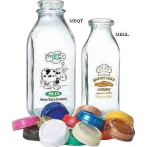 Milk Bottles, Custom Imprinted With Your Logo!