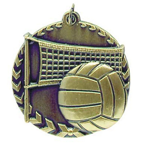 Custom Printed Basketball Millennium Medals