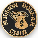 Custom Engraved Million Dollar Club Emblems and Seals