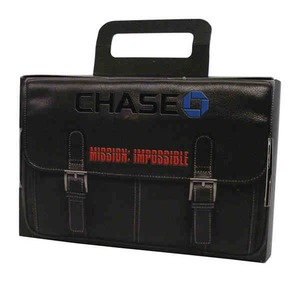 Mini Cardboard Briefcases, Custom Imprinted With Your Logo!