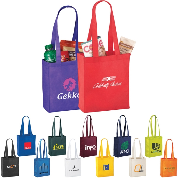 Custom Printed 1 Day Service Polypropylene Tote Bags