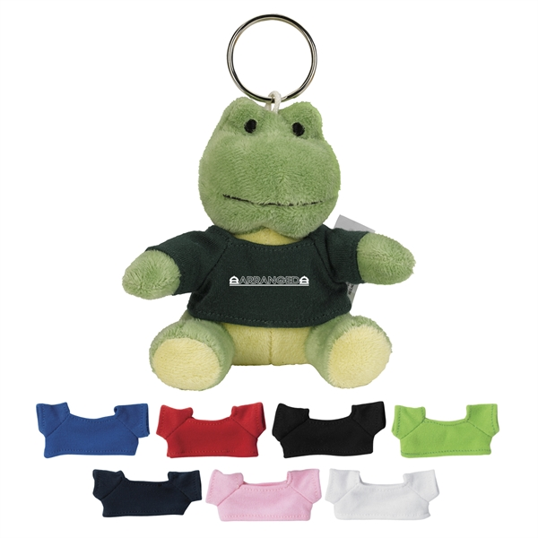 Frog Keychains, Custom Designed With Your Logo!