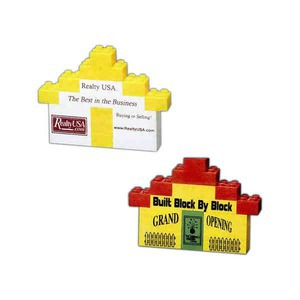 Custom Printed Mini Promo Blocks House Sets