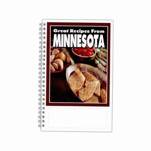 Custom Printed Minnesota State Cookbooks