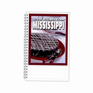 Custom Printed Mississippi State Cookbooks