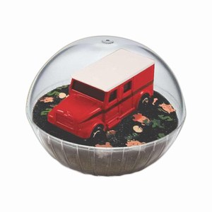 Custom Printed Mobile Armored Truck Crystal Globes