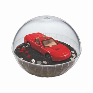 Custom Printed Mobile Corvette Crystal Globes