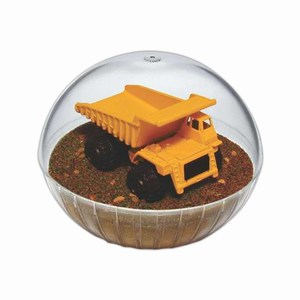 Mobile Dump Truck Crystal Globes, Custom Decorated With Your Logo!