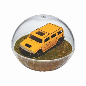 Custom Printed Mobile Hummer Crystal Globes