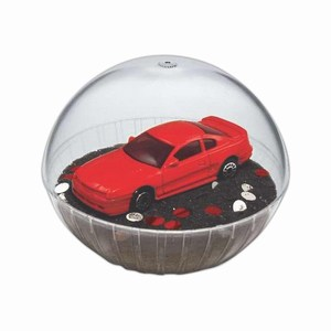 Custom Printed Mobile Mustang Crystal Globes