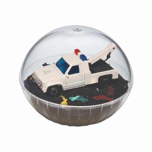 Custom Printed Mobile Tow Truck Crystal Globes