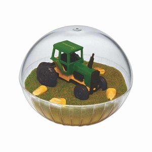Custom Printed Mobile Tractor Crystal Globes