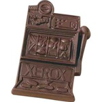 Custom Printed Molded Chocolate Slot Machines