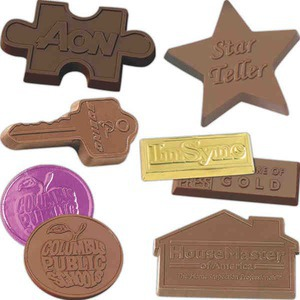 Custom Printed Molded Chocolates