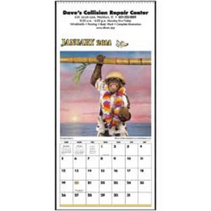 Monkey Business Executive Calendars, Custom Made With Your Logo!