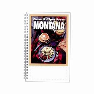 Custom Printed Montana State Cookbooks