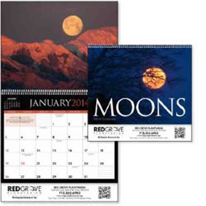 Custom Printed Moons Appointment Calendars