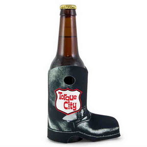 Custom Printed Motorcycle Boot Can Coolers