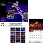 Custom Printed Motorcycle Mania Wall Calendars