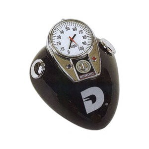 Custom Printed Motorcycle Paperweight Clocks