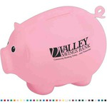 Custom Imprinted Moving Tail Piggy Banks