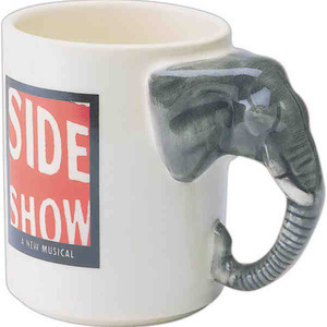 Custom Printed Elephant Shaped Mugs