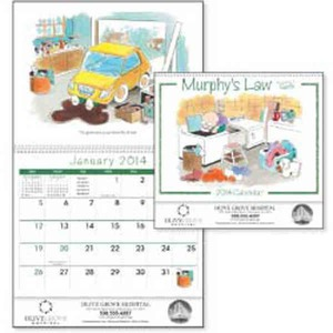 Custom Printed Murphys Law Appointment Calendars