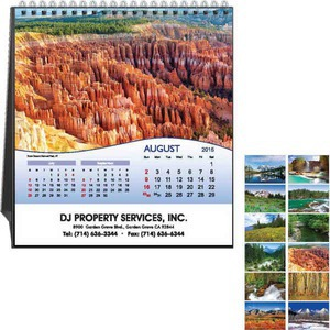 Custom Printed National Parks Appointment Calendars