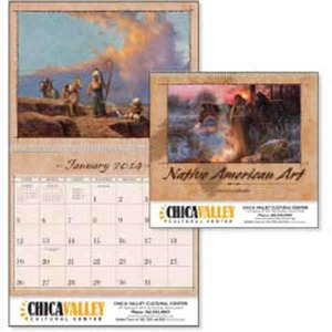 Custom Printed Native American Art Appointment Calendars