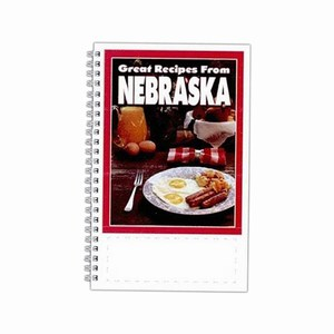 Custom Printed Nebraska State Cookbooks