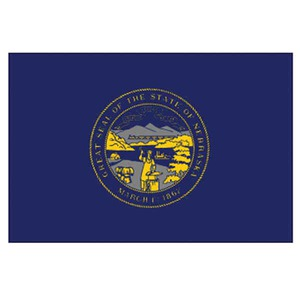 Custom Printed Nebraska State Flags