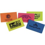Custom Printed Neon Colored Erasers