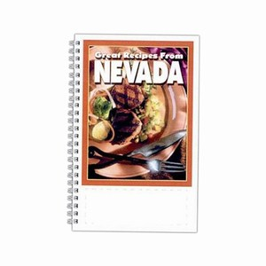 Custom Printed Nevada State Cookbooks