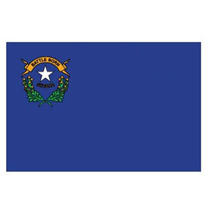 Custom Printed Nevada State Flags