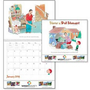 Custom Printed Never A Dull Moment Appointment Calendars