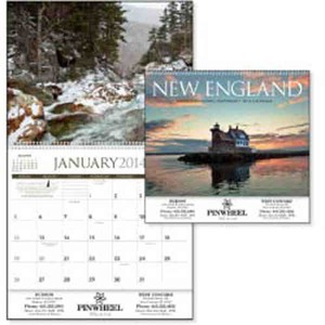Custom Printed New England Appointment Calendars