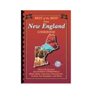 Custom Printed New England State Cookbooks