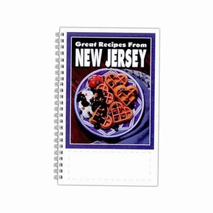 Custom Printed New Jersey State Cookbooks