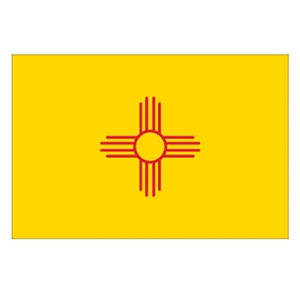 Custom Printed New Mexico State Flags