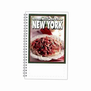 New York State Cookbooks, Custom Imprinted With Your Logo!