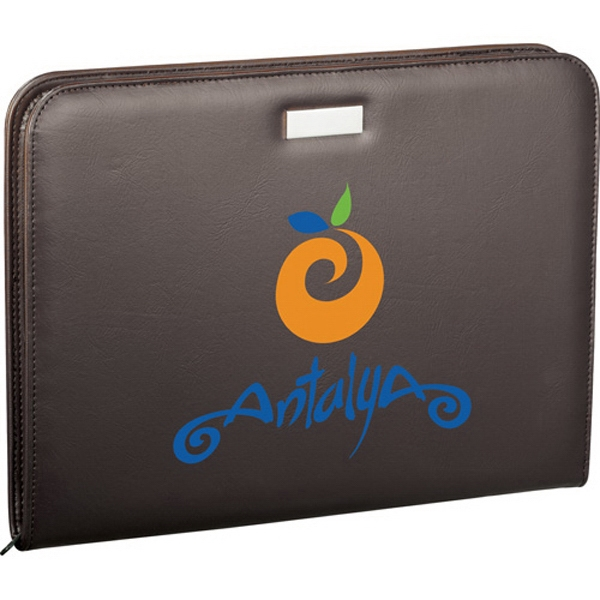 1 Day Service Butter Soft Simulated Leather Portfolios, Customized With Your Logo!