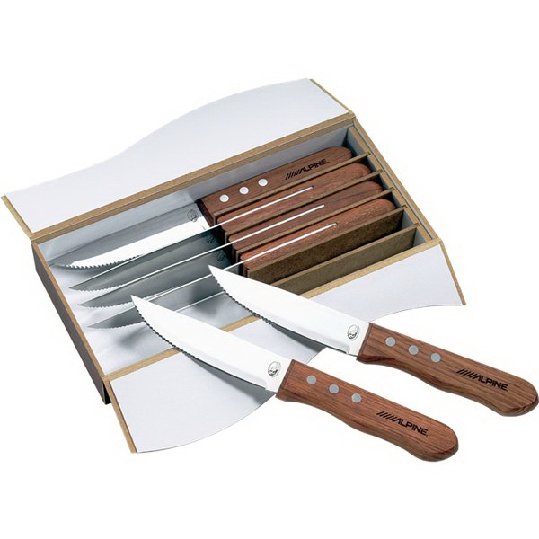 Custom Printed Canadian Manufactured Niagara Cutlery Steak Knife Sets