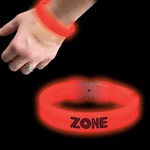 Custom Imprinted Nine Inch Glow Bracelets