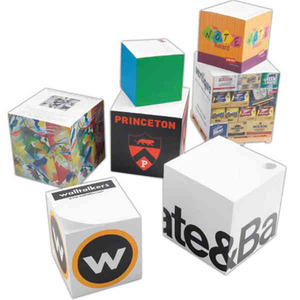 Notepad Cubes, Custom Imprinted With Your Logo!