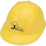 Customized Novelty Plastic Construction Hats