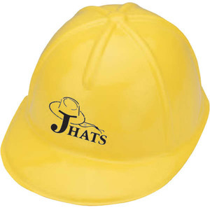 Novelty Plastic Construction Hats, Customized With Your Logo!